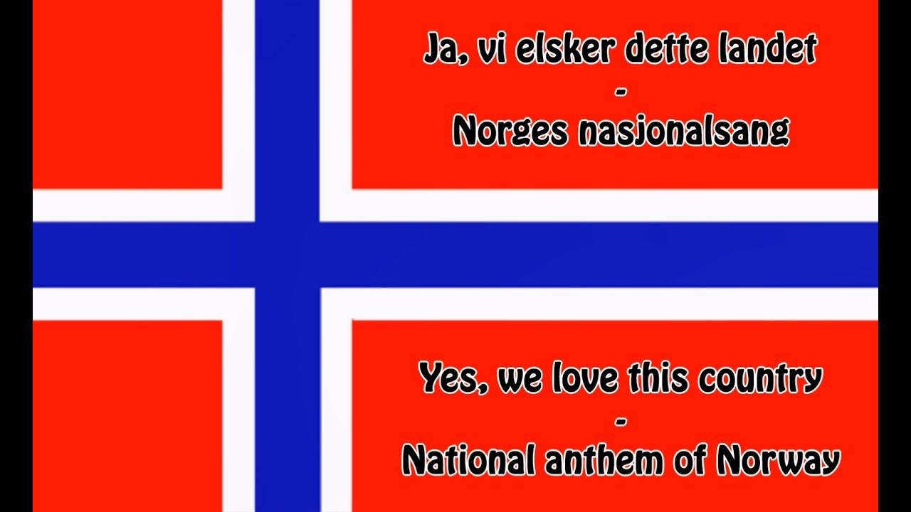 Norges Nasjonalsang Tekst
