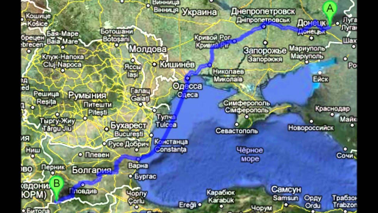 Radio Bella Petrich Bulgaria Resived In Alchevsk Ukraine - Alchevsk map
