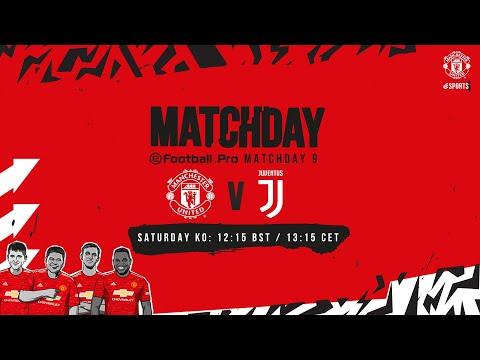 esports | eFootball.Pro | Manchester United v Juventus | LIVE SAT 12:15 BST 13:15 CET | PES 2021