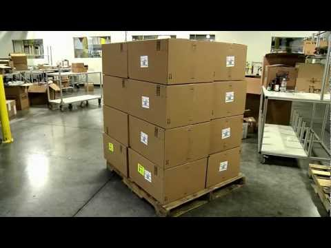 How to Build a Pallet to Ship to an Amazon Fulfillment Center
