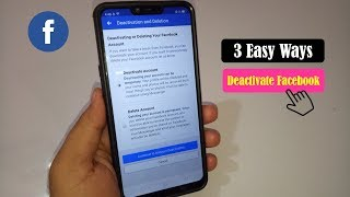 3 Easy Ways to Deactivate Facebook Account on Mobile 2019