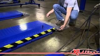Kernel HR6K-70 High Rise 6,600 Lb Capacity Scissor Car Lift