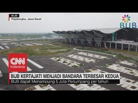 BIJB Kertajati Menjadi Bandara Terbesar Kedua Indonesia