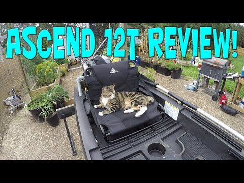 2017 Ascend 12T Kayak Review and Current Rigging Walktrough.