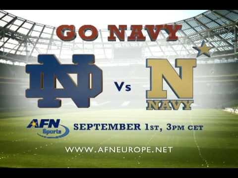 US Naval Hospital Naples - Go Navy, Beat Irish