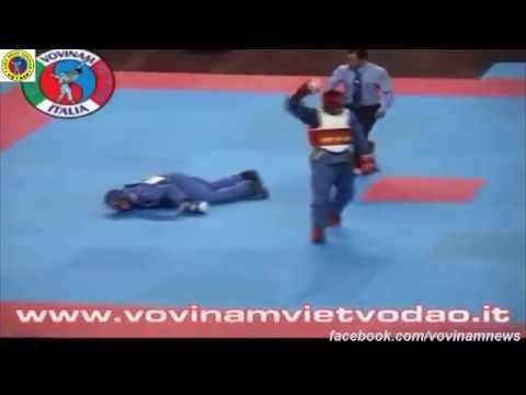 Vovinam : Highlight and knock-out vovinam P1