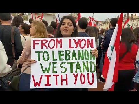 شاهد: اللبنانيون في فرنسا يتضامنون مع احتجاجات الوطن ضد فساد الحكومة…  - نشر قبل 2 ساعة