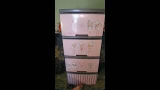 Обзор и Распаковка Пластикового комода Алеана