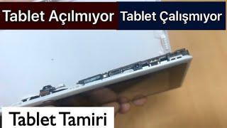 Tablet Açılmıyor-Açma Kapama düğme çalışmıyor-tablet çalışmıyor-tablet düğme içine kaçtı