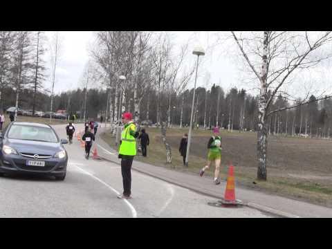 SAUL ja SM puolimaraton 18.4.2015, kärki neljännellä kierroksella