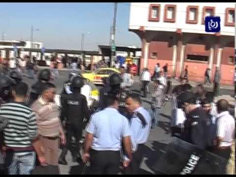 اعمال شغب في مجمع عمّان الجديد في اربد