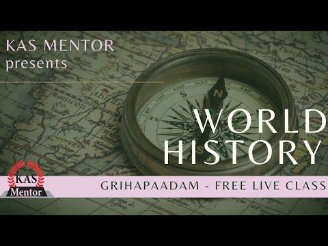 ഗൃഹപാഠം - Live | World History | Eighteenth Class On 13th July 2020 @ 6pm IST | KAS Mentor