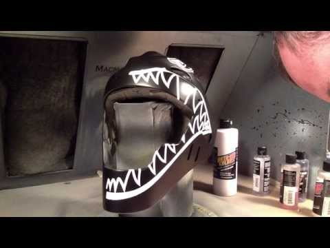 Uvalle Catchers mask painting