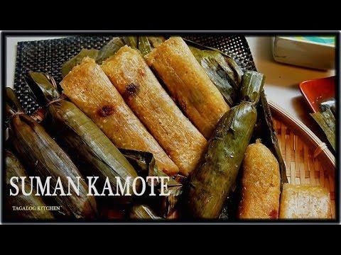 Suman Kamote ( Sweet Potato SUMAN)