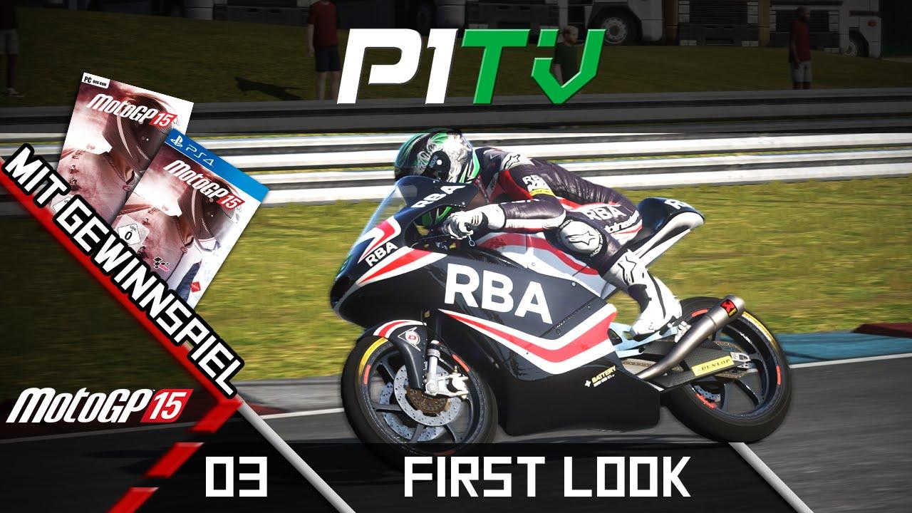 MotoGP 15 - Karriere & Gewinnspiel (PC, PS4) | First Look | Lets Test MotoGP 15 #03 [PC] [60FPS ...