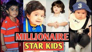Video Top 10 Lucky Millionaire Star Kids | You Won't Believe download MP3, 3GP, MP4, WEBM, AVI, FLV Juli 2018
