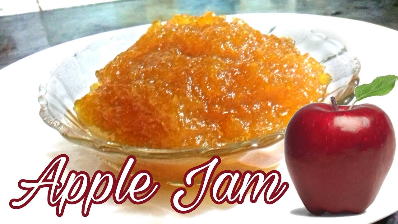 How to cook apple jam Simple recipe 58