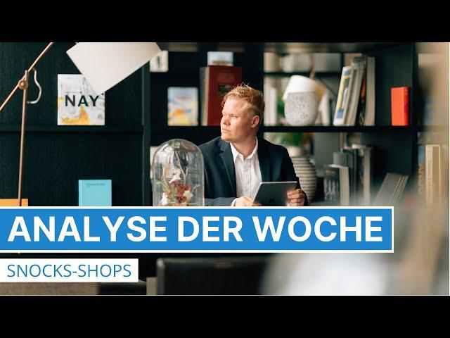 Analyse der Woche - Online-Shop von SNOCKS auf der Couch