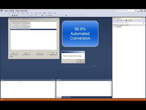 COBOL to C# Conversion Demo
