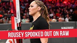 Ronda Rousey Spooked Out On RAW