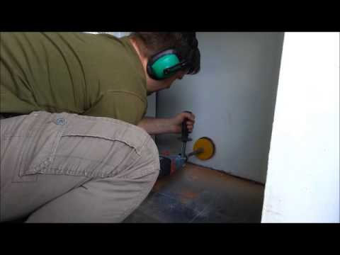 Core Drill 4 Quot Tumble Dryer Vent Youtube