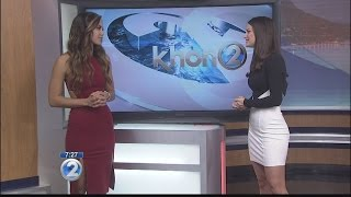 Miss Hawaii USA returns to Wake Up 2day post-pageant
