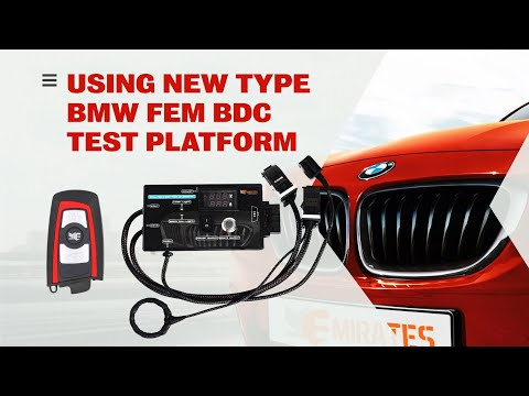 Using New Type Bmw FEM BDC Test Platform