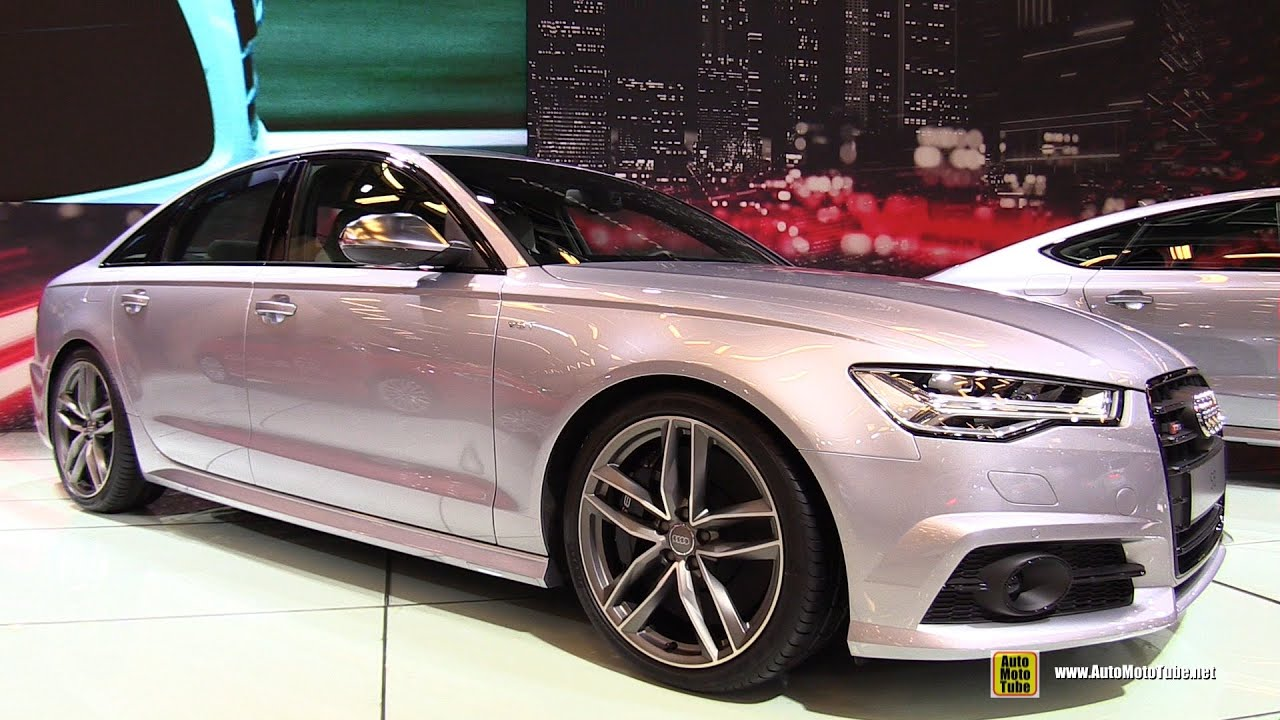 2016 audi s6 exterior and interior walkaround 2015. Black Bedroom Furniture Sets. Home Design Ideas
