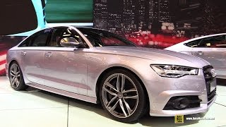 2016 Audi S6 - Exterior and Interior Walkaround - 2015 Montreal Auto Show
