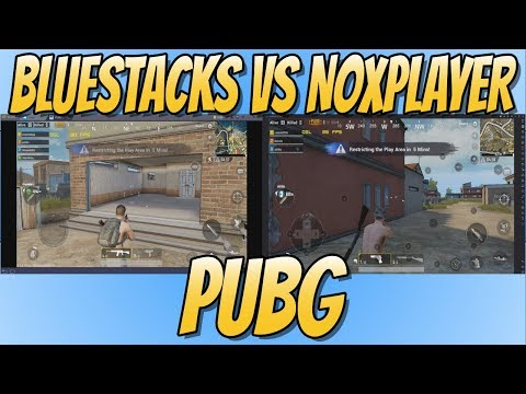 BlueStacks vs NoxPlayer PUBG Benchmark Test | Which Android Emulator Is Going To Win!