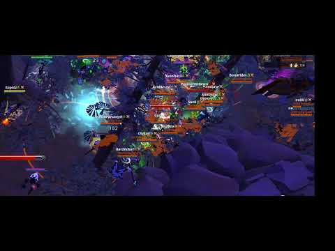 Albion Online - ZvZ Rumble against OOPS | Territory reset [ARCH]