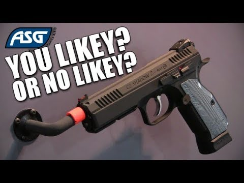 The ASG CZ Shadow 2 Co2 Pistol - Is This It Chief? Is That Still Cool To Say?