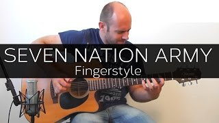 Seven Nation Army (White Stripes) - Acoustic Guitar Solo Cover (Violão Fingerstyle)