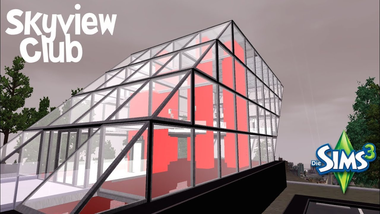Sims 3 Speed Build Skyview Club Youtube