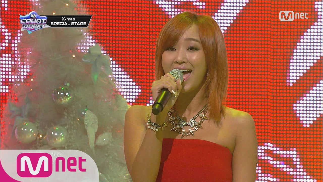 [STAR ZOOM IN] Hyorin&VIXX&DICKPUNKS 'All I Want For Christmas Is You' [MCD Ep.221] 151215 EP.43 #1