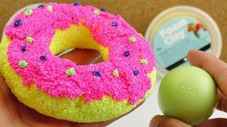 Form Clay Donut als Aufbewahrung für Lippenpflege EOS | Sweet Candy aus Wolkenschleim
