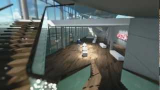 Art Gallery - Architectural Visualization. DNI Studio.