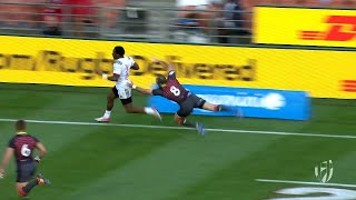 Highlights: Four teams unbeaten at New Zealand Sevens