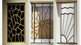 Modern simple window grill designs(paer-23)