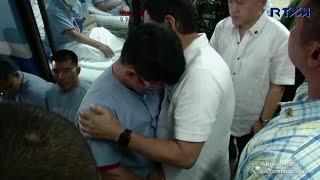 Duterte visits injured soldiers at AFP Medical Center
