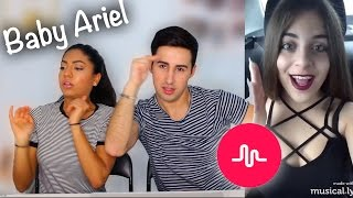 Best Baby Ariel Musical.ly Compilation REACTION!