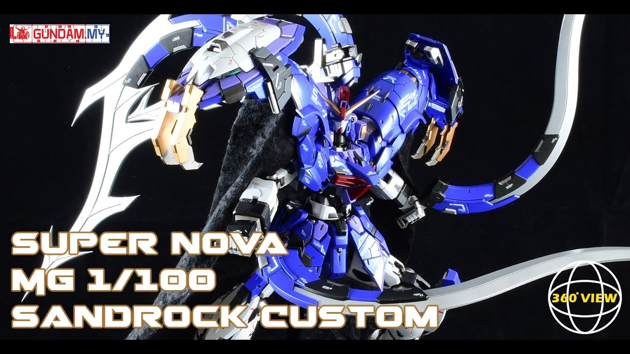 [360°Degree] [Super Nova] 1/100 MG XXXG-01SR2 Sandrock Custom