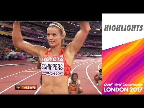 WCH London 2017 Highlights - 200m - Women - Final - Dafne Shippers wins!
