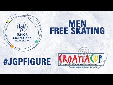 Men Free Skating - Zagreb 2017