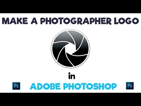 Make A Photography Aperture Logo In Adobe Photoshop