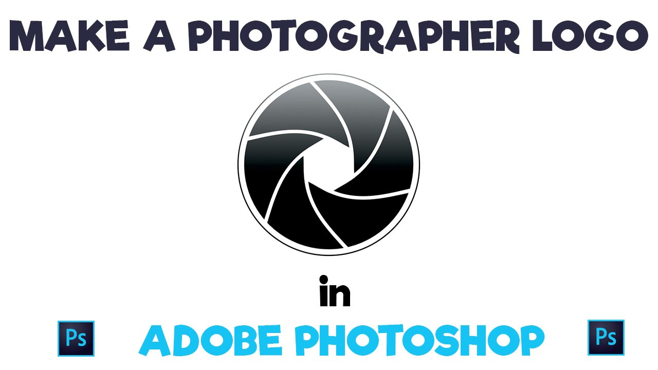 Make a photography aperture logo in adobe photoshop youtube make a photography aperture logo in adobe photoshop pooptronica Images