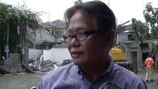 Fikri Setiawan -hardnews- Hotel Seruni Dibongkar Paksa