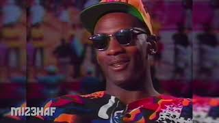 Michael Jordan Interview | On Three-peat Possibility | On His Ego | On His Children | 1993