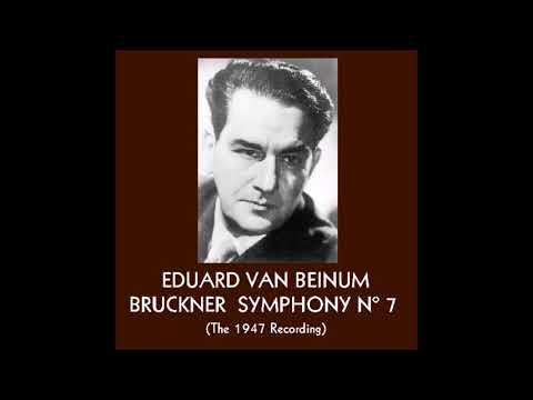 "Bruckner ""Symphony No 7"" Eduard van Beinum 1947"