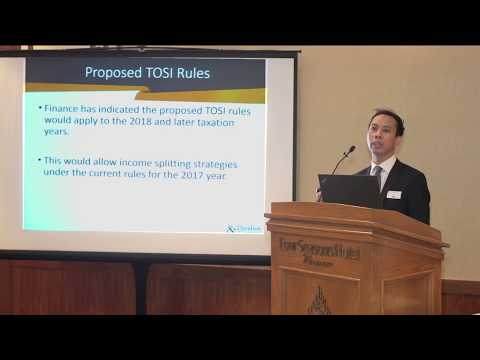 2017 Annual Tax Update | Proposed New Rules for Taxation of Private Companies | Jamie Nguyen